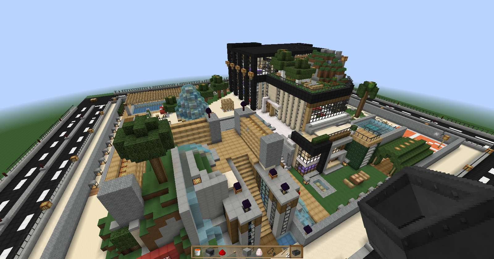 Casa de lujo minecraft minecraft descargas for Minecraft videos casas