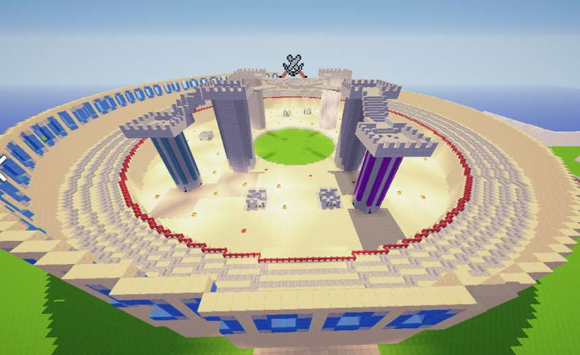 Arena Muerte Súbita Minecraft