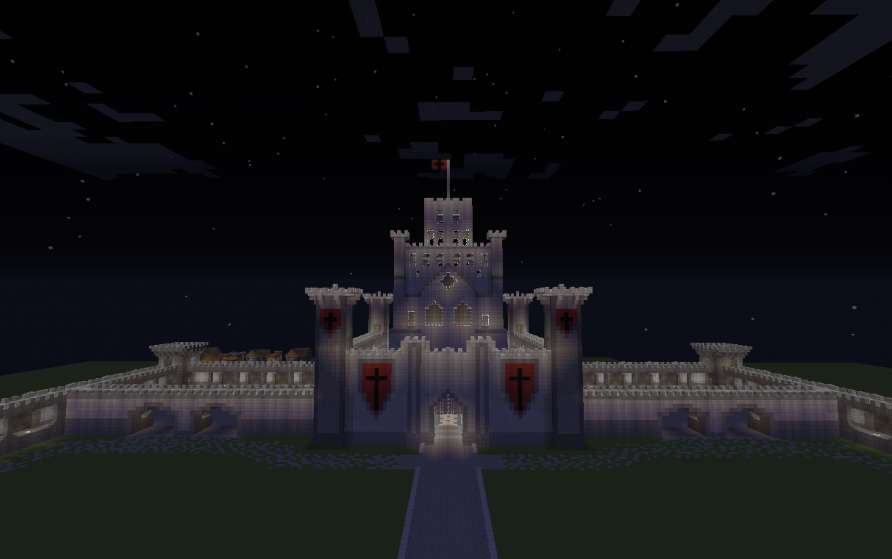 Gran Castillo Minecraft Medieval