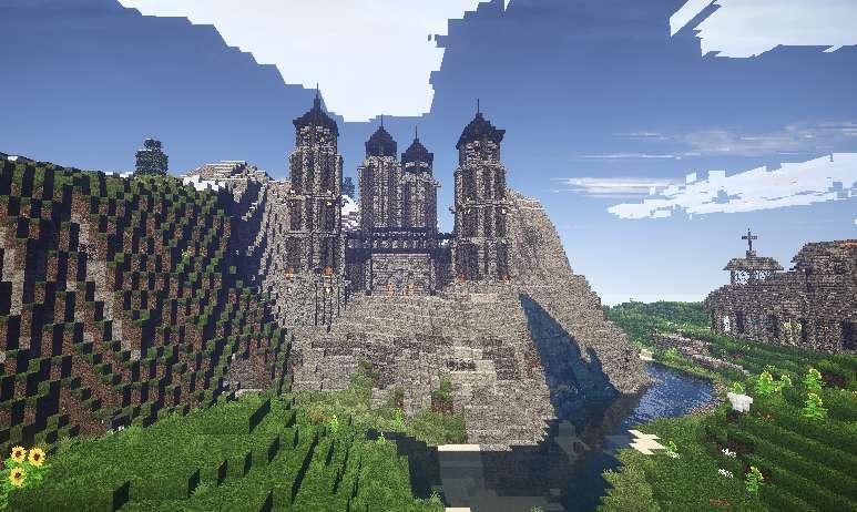 Castillo Medieval Minecraft