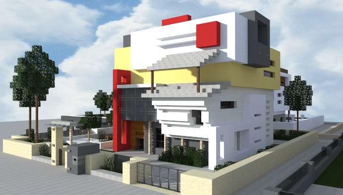 Casa moderna Minecraft