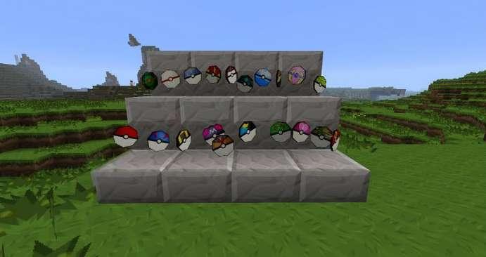 Pokeball minecraft