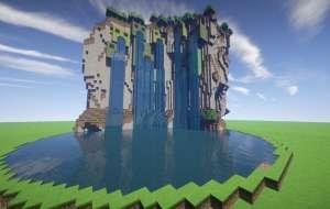 Cataratas del Creeper Minecraft