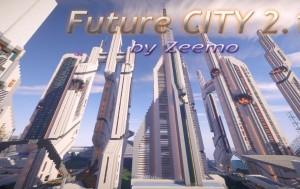 Ciudad Futurista 2.1 Minecraft