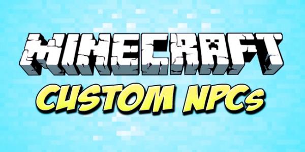 Custom NPCs Mod para Minecraft 1.7.2