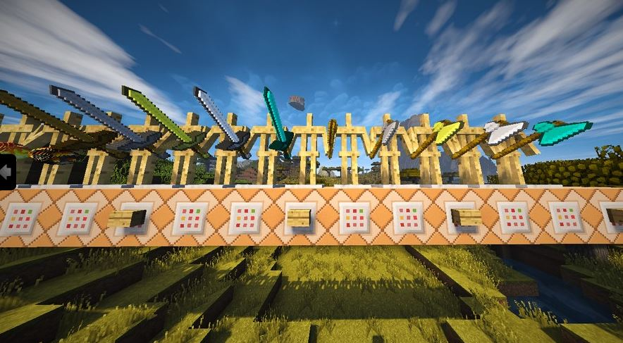 Faithful 3D Pack de Texturas para Minecraft 1.8.4