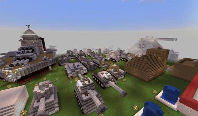 Museo de Guerra #MinecraftPE #MinecraftMap