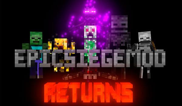 Epic Siege Mod para Minecraft 1.7.10