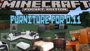 Furniture mod para Minecraft PE 0.11