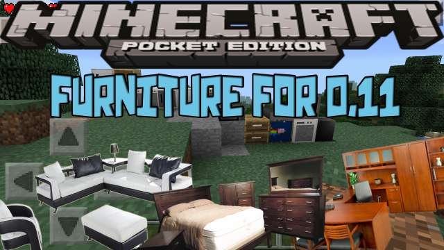 Furniture mod para Minecraft PE 0.11 - Minecraft Descargas