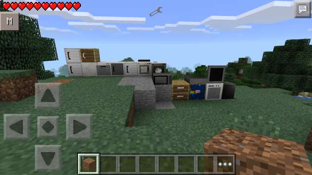 Furniture mod para Minecraft PE