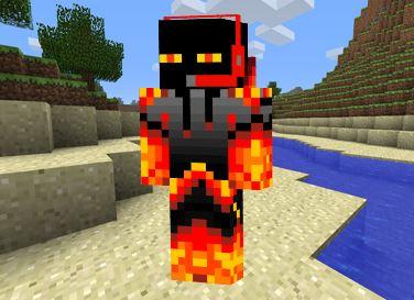 Skin Magma Ender para Minecraft