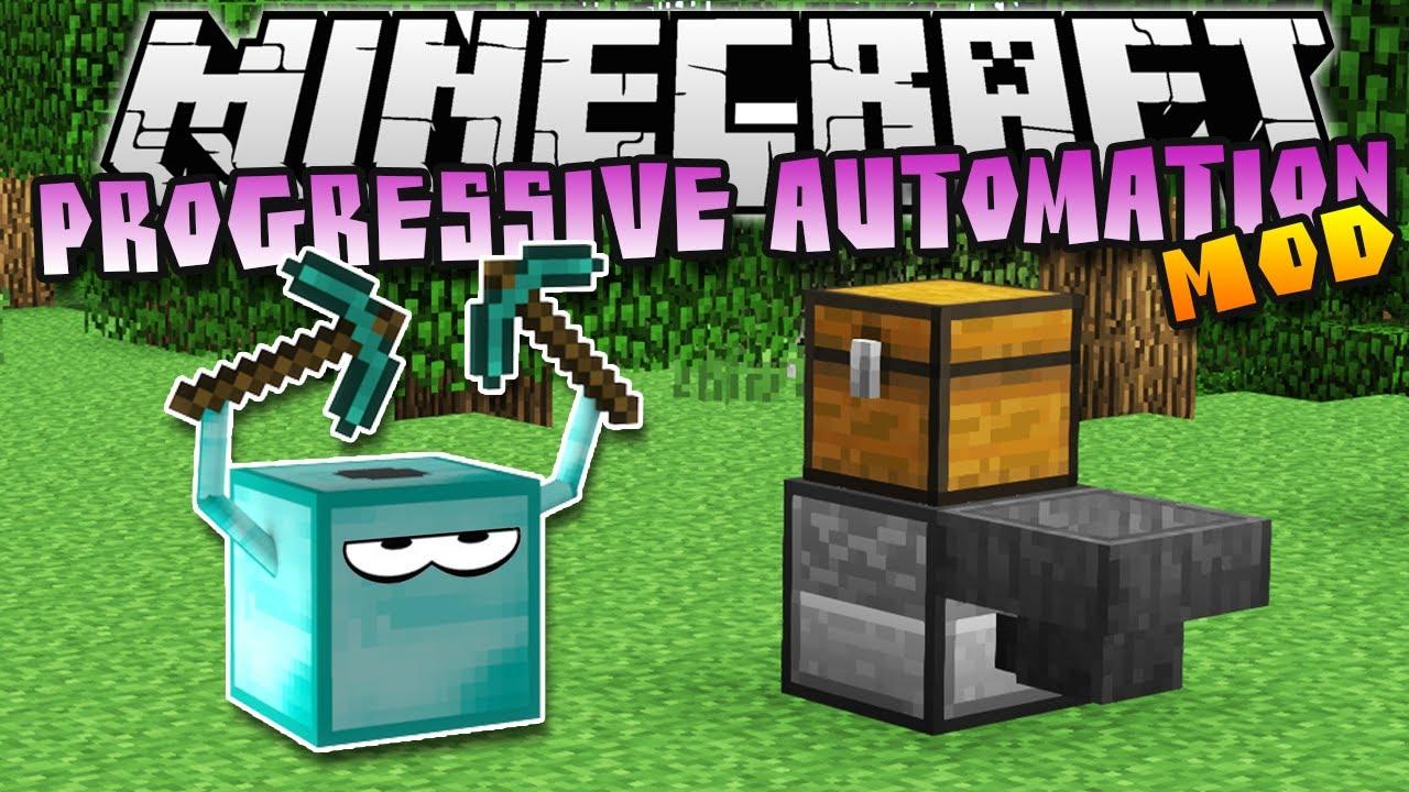 Progressive Automation Mod  para Minecraft 1.8