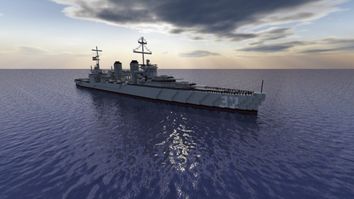 USS New Orleans (CA-32) Minecraft