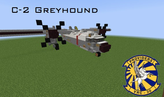 Avión C-2 Greyhound para Minecraft