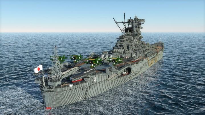 Barco de combate Minecraft