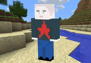 Skin Hombre Calvo para Minecraft