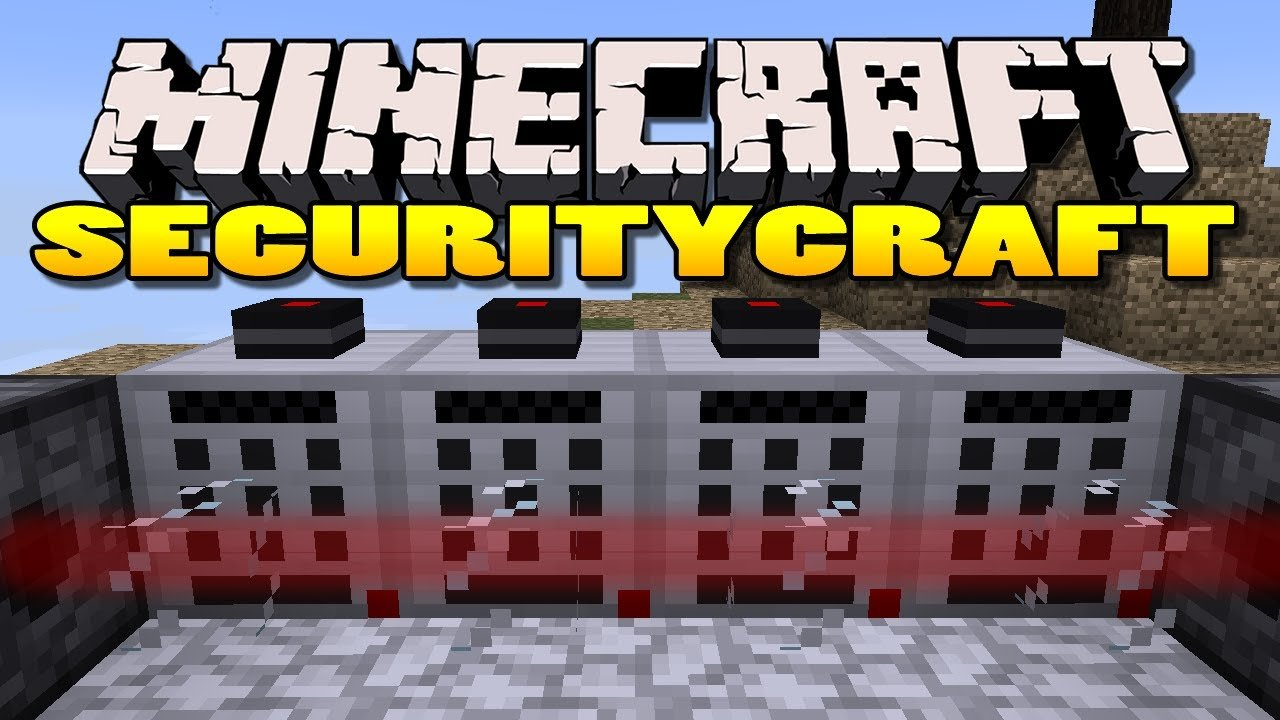 Minecraft Security Craft Mod para Minecraft 1.8