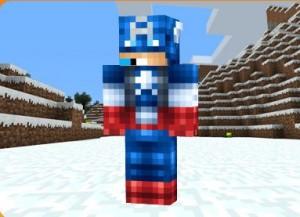 Skin Capitan America para Minecraft
