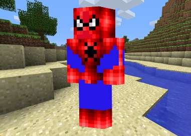 Skin SpiderMan Minecraft