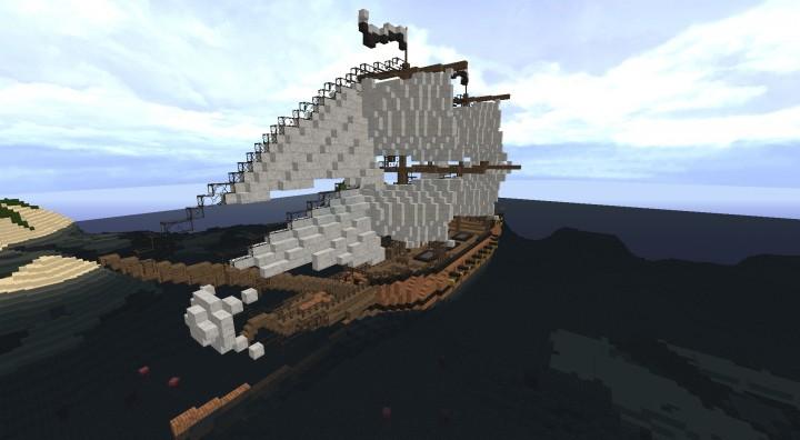 Descargar Barco Venice of the Seas Minecraft