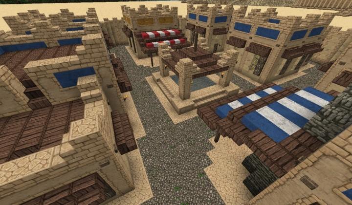 Descargar Ciudad del Desierto Minecraft