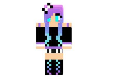 Skin chica Ender Hotty Minecraft