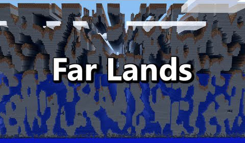 Farlands Mod para Minecraft 1.7.10
