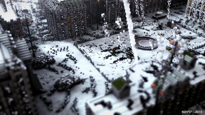 Batalla de Stalingrado Mapa Minecraft