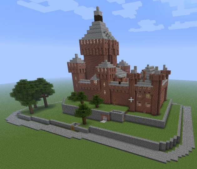 Descargar Castillo Frances Minecraft