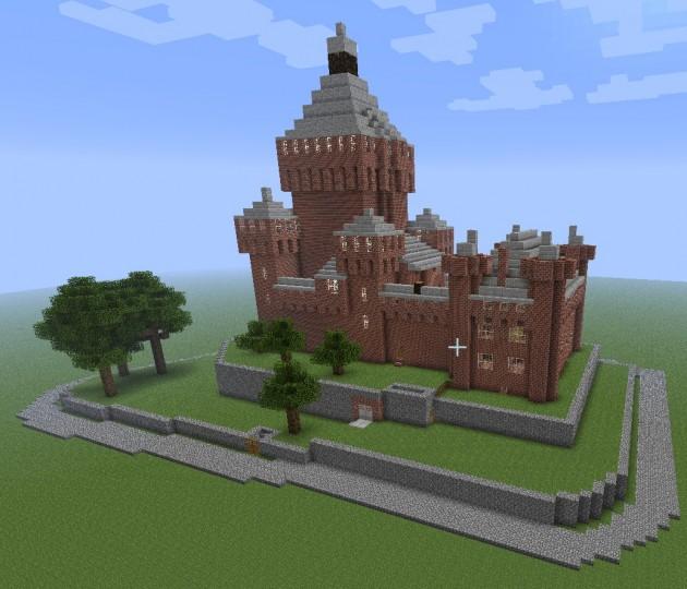 Descargar Castillo Frances Minecraft