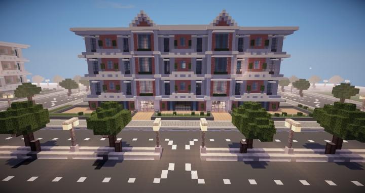 Descargar Edificio de Apartamentos Minecraft