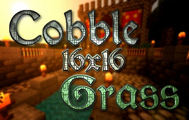 Paquete Texturas Cobblegrass Minecraft 1.8.8/1.8