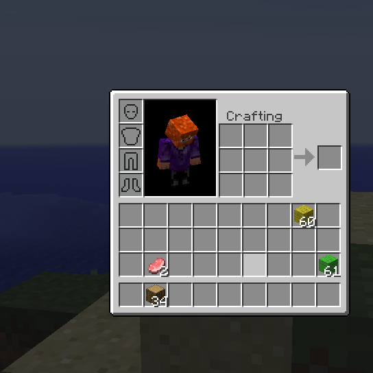 Inventory Crafting Grid Mod Minecraft 1.8/1.7.10