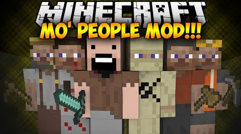 Mod Mo' People Minecraft 1.8/1.7.10/1.7.2/1.5.2