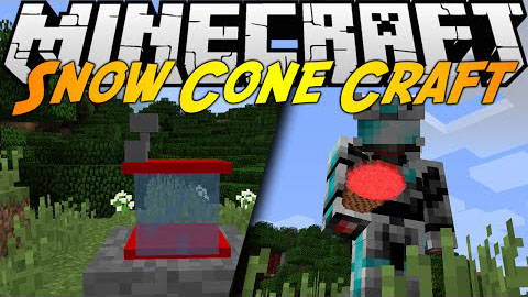 Snow Cone Craft Mod para Minecraft 1.8