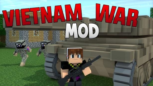 Vietnam War Mod para Minecraft 1.7.10