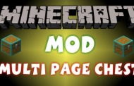 Mod Multi Page Chest Minecraft 1.8/1.7.10/1.7.2/1.5.2