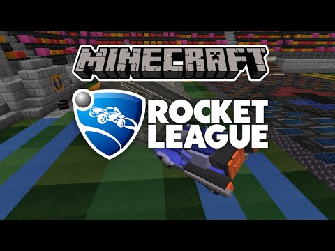 Mapa Rocket League Minecraft 1.8.8/1.8