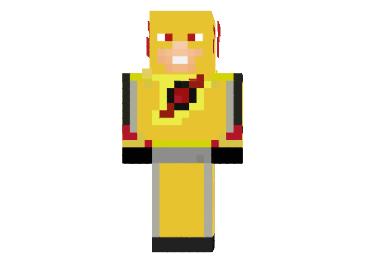 Flash Reverso Skin Minecraft