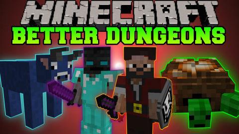 Better Dungeons Mod Minecraft 1.8