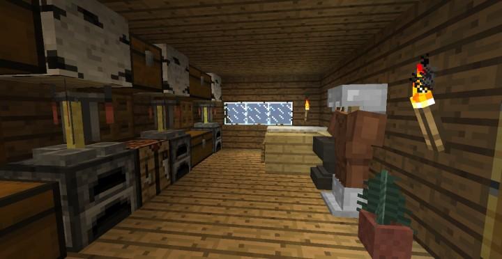 Descargar pequeña casa de madera Minecraft