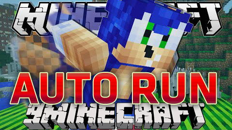 Auto Run Mod Minecraft 1.8/1.7.10