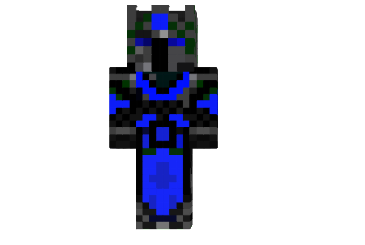 Blue Void Skin Minecraft