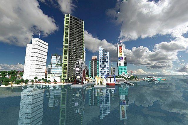 ciudad moderna minecraft 2016