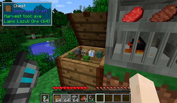 Immersive Craft Mod para Minecraft 1.10 y 1.10.2