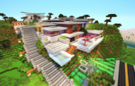 Mansion Redstone Minecraft