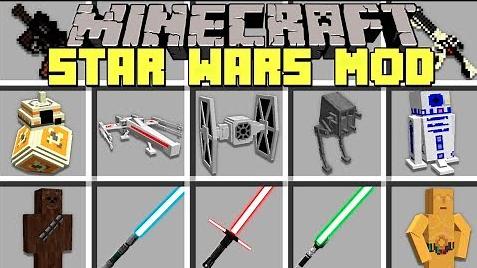 Star Wars in MC Mod para Minecraft 1.12.2