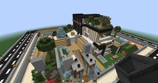 Mega Casa de Lujo Minecraft