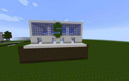 Banco Moderno Minecraft